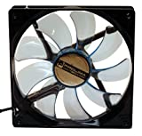 Prolimatech Blue Vortex 14 LED - Blue Vortex Blue Wings Blue LED 140mm Fan