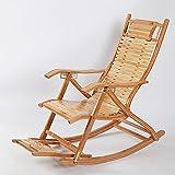 Chair Ocio en la Edad Plegable sillas Silla de bambú Plegable sillas balancín sillas sillón Tomar una Silla Respaldo Silla