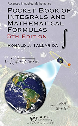 Pocket Book of Integrals and Mathematical Formulas (English Edition) - Book Positiven Der Pocket