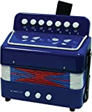 New Classic Toys NCT 0056 - Musikinstrument - Akkordeon, blau