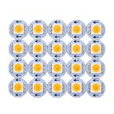 100x APA102 Warm White 5050 SMD LED CHIP Prewired on Board, NOT RGB!