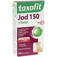 Taxofit Jod Depot Tabletten 60 St - preisvergleich