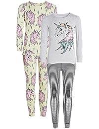 next Niñas Pack De Dos Pijamas Cómodos Con Estampado De Unicornio (3-16 Años)