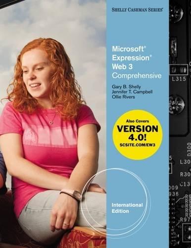 Microsoft® Expression Web 3: Comprehensive, International Edition