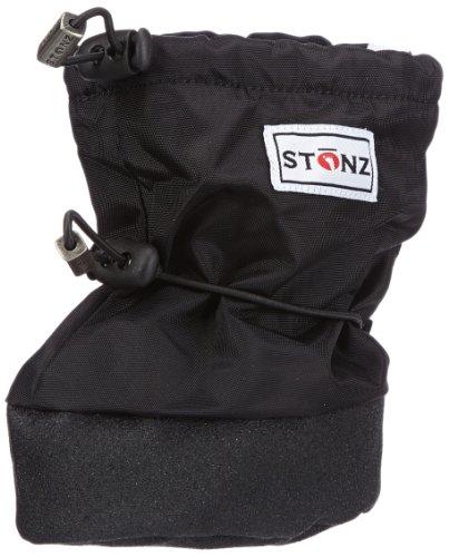 Stonz Black BBLA110-S, Jungen Schneestiefel, Schwarz (Schwarz), EU S