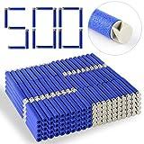 TXXCI 500 Stück Foam Pfeile Patronen für Nerf N-Streik Elite Series Blasters Spielzeugpistole- Grau + schwarz (500 Stück)