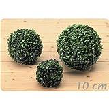 Buchsbaum-Kugel, für terrasse oder Wohnung - 10 cm