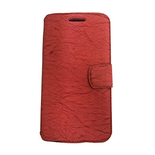 AryaMobi© Flip Cover, Synthetic Leather Flip Cover Universal Diary Case Cover For Micromax Canvas Nitro A311 - Pink - Premium Cover