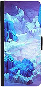 Snoogg Crystal Earthdesigner Protective Flip Case Cover For Lg G2