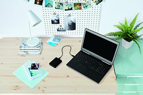 Western Digital Elements 1TB Portable External Hard Drive (Black) 2