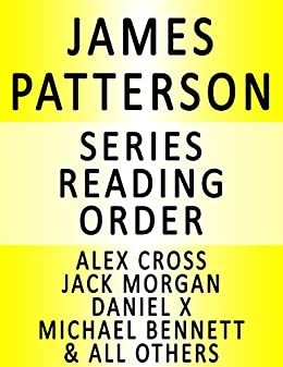 JAMES PATTERSON - SERIES READING ORDER (SERIES LIST) - IN