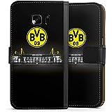 Samsung Galaxy S7 Flip Tasche Schutz Hülle Walletcase Bookstyle Borussia Dortmund BVB Stadion