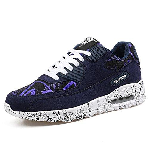 LFEU - Pantofole a Stivaletto Unisex – Adulto Blu