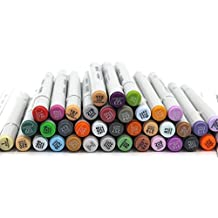 finecolour 160colores Classic marcadores de doble punta–rotulador de dibujo Sketch 36487260piezas manga pintura arte marcadores 72 PC Standard Set