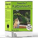 PremiPro Katzennetz für Balkon & Fenster