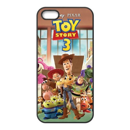 Toy Story 3 iPhone 5 5s Handy Fall Schwarz r2p2js (Fällen Story Phone I 5s Toy)