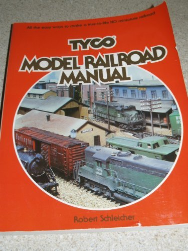 tyco-model-railroad-manual-by-robert-h-schleicher-1979-10-23
