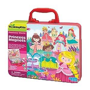 4M- Thinking Kits Imanes de Princesas, (404710)