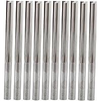 UE _ hozly 4x 32mm dos cortadores de ranura doble flautas recto fresa madera sólida carburo Foma CNC Router Bits 10unidades