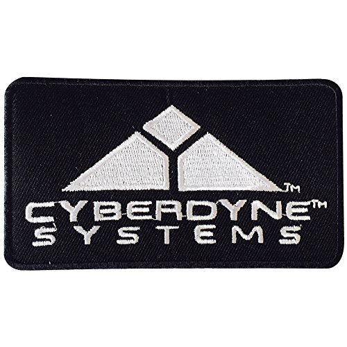 Echt Empire Terminator Filmen Cyberdyne Systems Logo Patch Bestickt Iron On/Sew On Patch