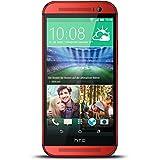 "HTC One M8 - Smartphone libre Android (pantalla 5"", cámara 5 Mp, 16 GB, Quad-Core 2.6 GHz, 2 GB RAM), rojo (importado)"