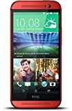 HTC One (M8) 16GB 4G Red - smartphones (Single SIM, Android, NanoSIM, GSM, HSDPA, LTE)