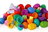 Ez Toys Surprise Eggs Filled With Easter Toys 50 Pack Great For Easter Eggs