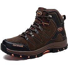 f23768a45b0 KAMIXIN Chaussures de Randonnée Hommes Chaussures de Marche Antidérapant  Outdoor Sports Bottes de Marche Chaussures Montagne