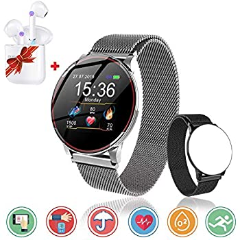 AGPTEK Smartwatch Mujer, Reloj Inteligente Deportivo ...