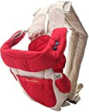 Chinmay Kids ASSURED Kangaroo Bag 3 Way Red Navy Blue Baby Carrier Baby Cuddler (MULTICOLOUR Front Carry facing in)