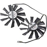 Portátil ventilador de repuesto Firstd FD7010H12S 75mm 4pines 12V 0,35A para gráficos de video tarjeta MSI R6790Twin Frozr II Dual Fan PLD10010S12HH