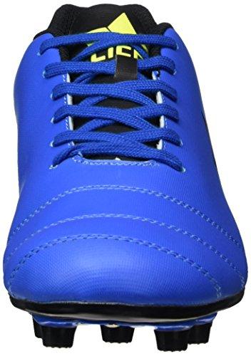 Lico Unisex-Erwachsene Soccer Sport Fußballschuhe Blau (BLAU/SCHWARZ/LEMON)
