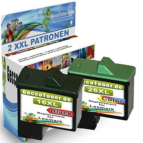 Premium Set di 2 cartucce di inchiostro compatibile con Lexmark