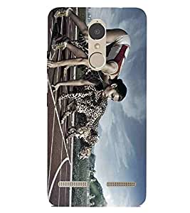 For Lenovo K6 Power sports girl, girl, racing girl, tiger Designer Printed High Quality Smooth Matte Protective Mobile Case Back Pouch Cover by APEX