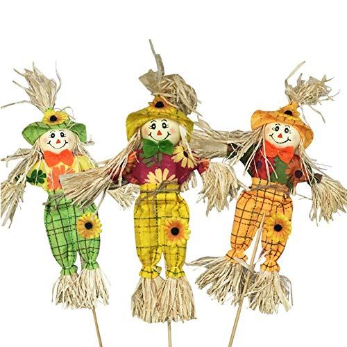 cheuchen für Gärten Vögel Taube Deterrent Halloween Dekoration im Freien für ländlichen Hof ()