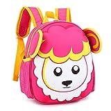 Qinddoo Marke Schultaschen für Jungen Mädchen Kinder Rucksäcke Grundschüler Rucksäcke Schafe Wasserdichte Schultasche Kinder Buch Tasche, 0131PI