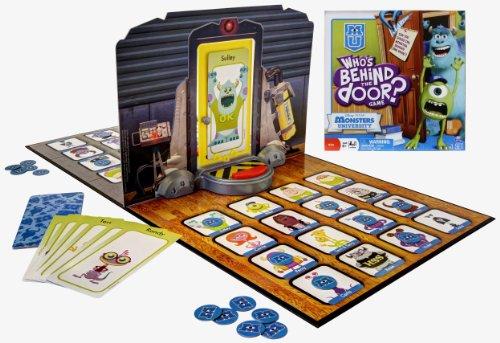 [UK-Import]Monsters University Whos Behind The Door Board Game (Monster University Spielzeug)