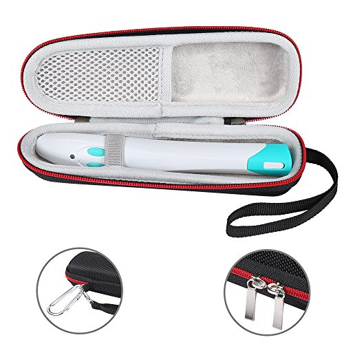 LuckyNV tragbare EVA-Reise-Aufbewahrungskoffer-Tasche für Bite Away Stick Treatment Device Box (Schwarz)
