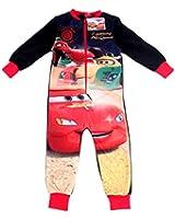 Boys DISNEY PIXAR CARS fleece onesie / sleepsuit / all-in-one / pyjamas - Ages 18/24mths, 2/3, 3/4, 4/5 yrs