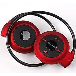 3Keys Mini 503 Stereo Bluetooth Headset Wireless Headphones Neckband Style Earphone(Color May Vary)