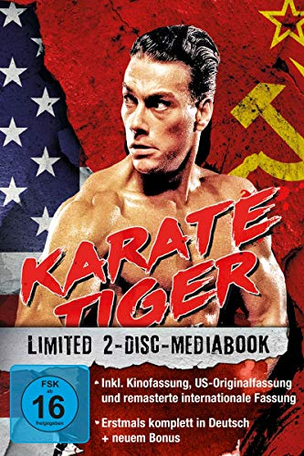 Karate Tiger - 2-Disc-Mediabook - US-Originalfassung LTD. [Blu-ray]