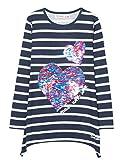 Desigual Mädchen T-Shirt TS_CHIVITE, Blau (Marino 5001), 140 (Herstellergröße: 9/10)