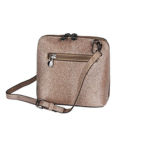 OBC Only-Beautiful-Couture, Borsa a spalla donna argento bronzo ca.: 20x17x8 cm (BxHxT) bronzo