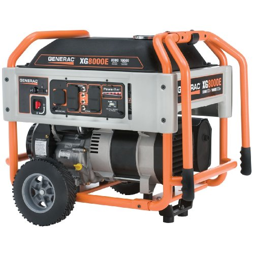 generac-xg6500-410cc-ohvi-gas-powered-portable-generator-with-wheel-kit