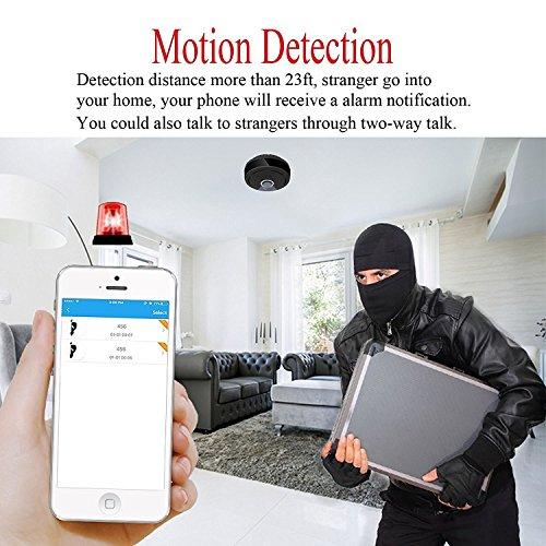 Mini IP Kamera 960P Panorama WiFi HD Zuhause Geschäft Sicherheit IP Videoaufnahme Nachtsicht - 8