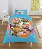 WAYBULOO KIDS BOYS CHILDRENS REVERSIBLE SINGLE DUVET QUILT COVER BEDDING SET NEW