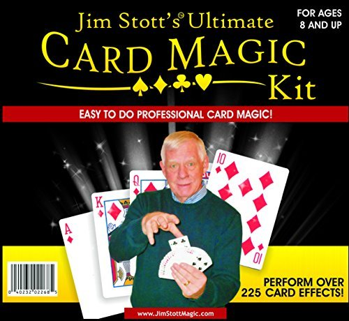 Jim Stott's Ultimate Card Magic Kit by Jim Stott Magic