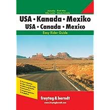 USA, Kanada, Mexiko. Travel Atlas
