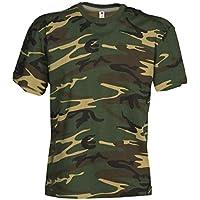 S.B.J - Sportland Kids Camouflage Classic Army Style T-Shirt für Kinder Kurzarm in Tarnfarbe