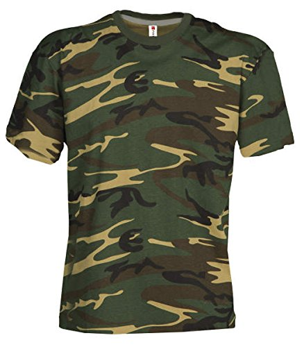 Kids Camouflage Shirt Classic Army Style T-Shirt für Kinder Kurzarm in Tarnfarbe